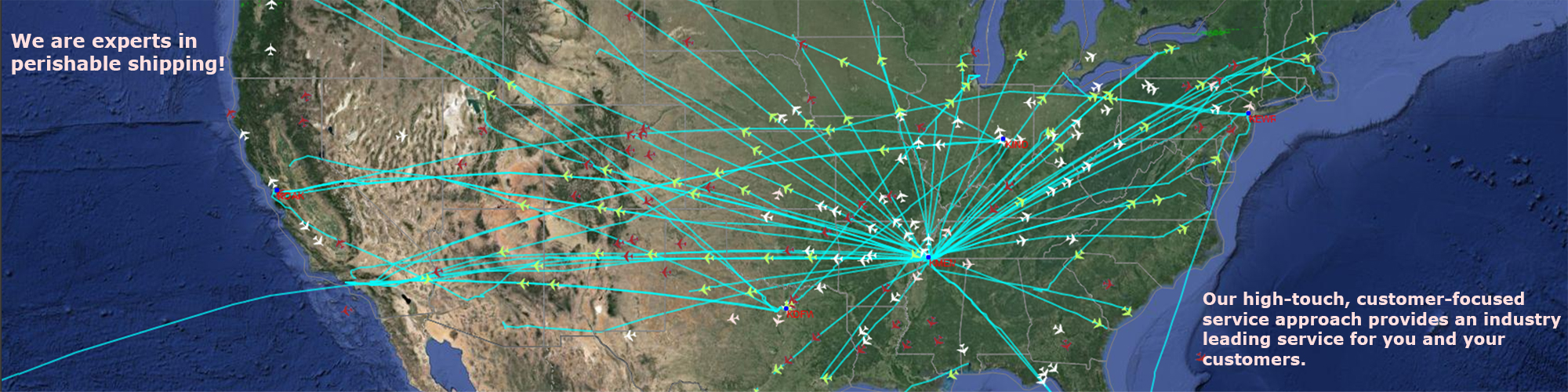 Air/Flight Map